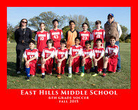 EHMS 2015 BOYS 6th GRADE SOCCER