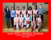 EHMS 2015 7th GIRLS BASKETBALL