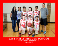 EHMS 2015 8th GIRLS BASKETBALL