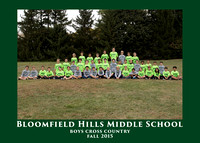 BHMS 2015 BOYS CROSS COUNTRY