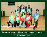 BHMS 2015-16 BOYS 6th GRADE BASKETBALL