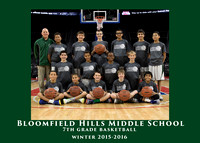 BHMS 2015-16 BOYS 7th GRADE BASKETBALL