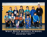WHMS 2015 7/8 BOYS BASKETBALL