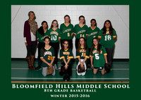 BHMS 2016 6th GRADE SOFTBALL