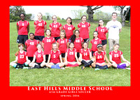 EHMS 2016 6th GRADE GIRLS SOCCER