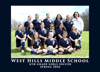 WHMS 2016 6th GRADE GIRLS SOCCER