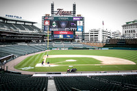 Battle of the Bloomfields at Comerica Park