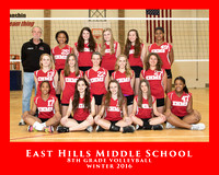 EHMS 2016 VOLLEYBALL